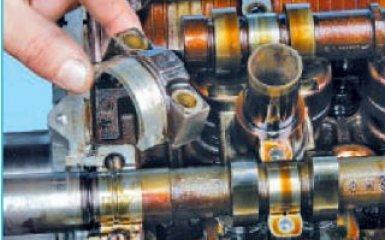 Замена распредвалов Hyundai Santa Fe (CM), 2006 - 2012 г.в.