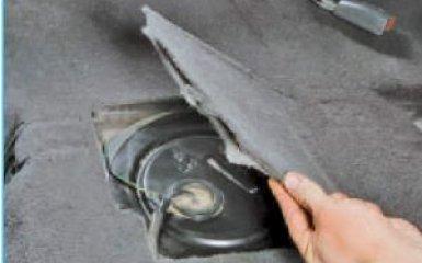 Замена бензонасоса Hyundai Santa Fe (CM), 2006 - 2012