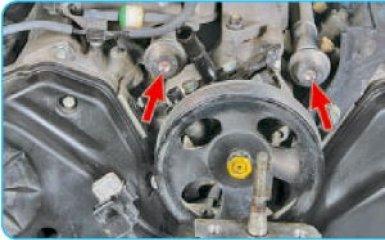 Замена компенсаторов пульсаций давления топлива Hyundai Santa Fe (CM), 2006 - 2012