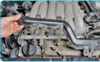 Замена топливной рампы Hyundai Santa Fe (CM), 2006 - 2012