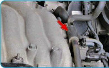 Снятие ресивера Hyundai Santa Fe (CM), 2006 - 2012