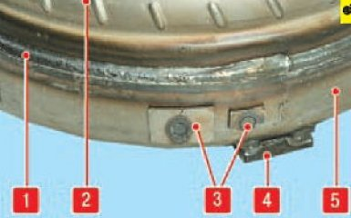 Снятие гидротрансформатора Hyundai Santa Fe 2 (CM), 2006 - 2012