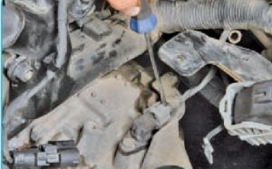 Снятие АКПП Hyundai Santa Fe 2 (CM), 2006 - 2012
