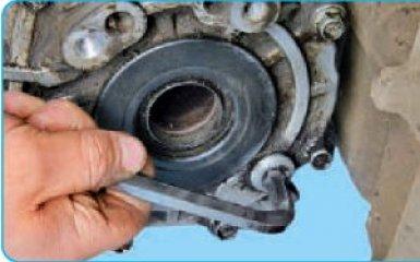 Замена масла в раздаточной коробке Hyundai Santa Fe 2 (CM), 2006 - 2012