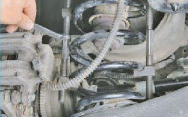 Замена задней пружины Hyundai Santa Fe 2 (CM), 2006 - 2012
