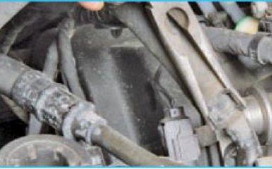Замена жидкости ГУР Hyundai Santa Fe 2 (CM), 2006 - 2012