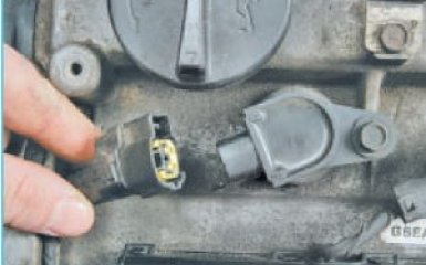 Замена катушек зажигания Hyundai Santa Fe 2 (CM), 2006 - 2012