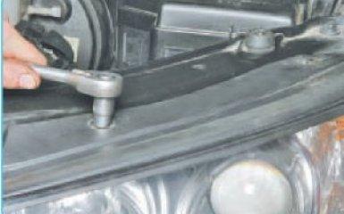 Замена блок-фары Hyundai Santa Fe (CM), 2006 - 2012