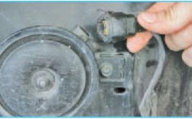 Замена гудка Hyundai Santa Fe 2 (CM), 2006 - 2012