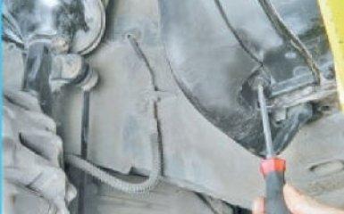 Снятие брызговиков и подкрылков Hyundai Santa Fe (CM), 2006 - 2012