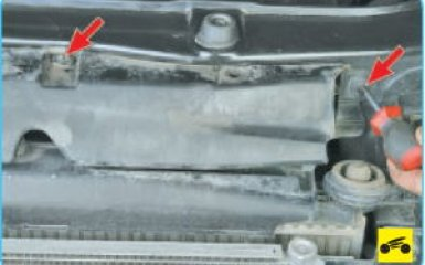 Замена замка капота Hyundai Santa Fe (CM), 2006 - 2012