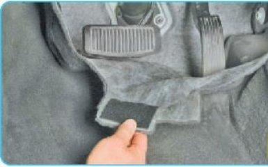 Замена тросов ручника Hyundai Santa Fe 2 (CM), 2006 - 2012