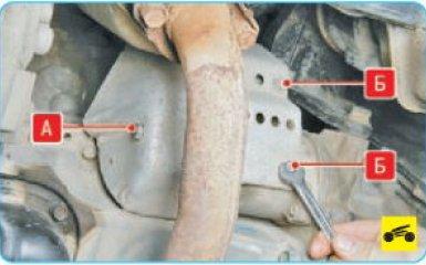 Снятие стартера Hyundai Santa Fe 2 (CM), 2006 - 2012