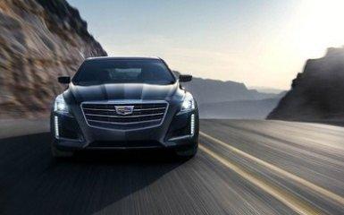 Флагманский почерк: легкий фейслифтинг для Cadillac CTS 2016 модельного года