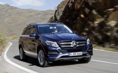Рестайлинг Mercedes-Benz GLE 2015-2016 в кузове W166