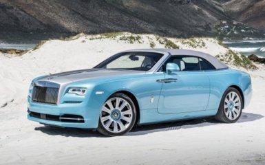 В России прошли «смотрины» кабриолета Rolls-Royce Dawn 2016