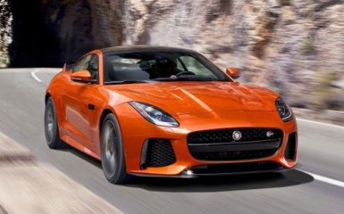 Не довезли: британская компания раскрыла все карты Jaguar F-Type SVR 2016 года