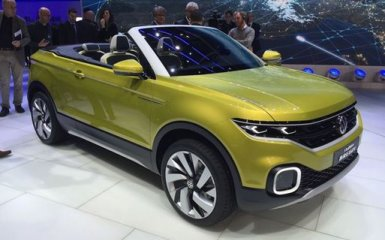 Ветер перемен: в Женеве показан концептуальный Volkswagen T-Cross Breeze 2016