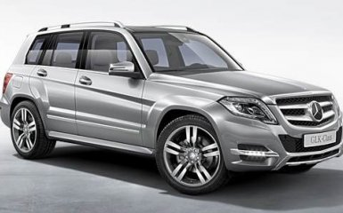В серию Mercedes-Benz GLK будет добавлен новый двигатель
