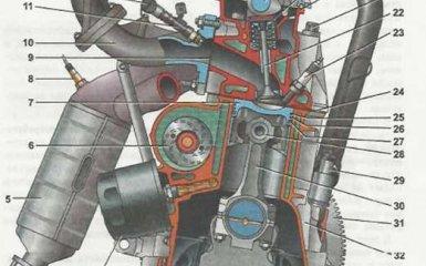Двигатель Lada Granta (ВАЗ 2190)