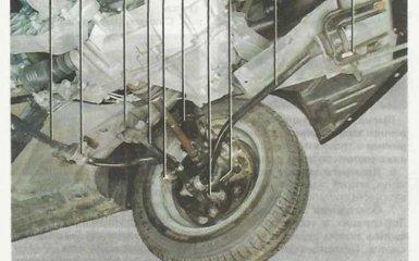 Передняя подвеска Lada Granta (ВАЗ 2190) с 2011 г.в.