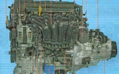Двигатель Kia Rio 3 (UB)