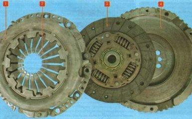 Сцепление Kia Rio 3 (UB)