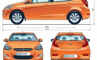 Технические характеристики Hyundai Solaris 1