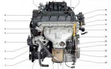 Двигатель (F16D3) Daewoo Nexia N150