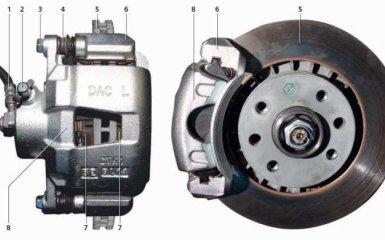 Тормозная система Daewoo Nexia N150