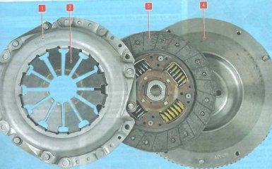 Сцепление Hyundai Elantra HD 4