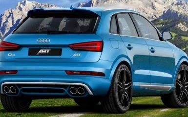 Тюнинг Audi Q3 2015 от ABT Sportsline