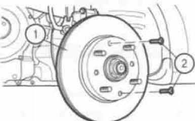 Замена тормозных дисков Chevrolet Aveo T200/T250