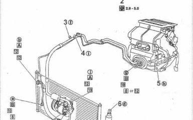 Кондиционер Nissan Primera 3 (P12)