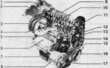 Двигатель Fiat Albea с 2005 гг.
