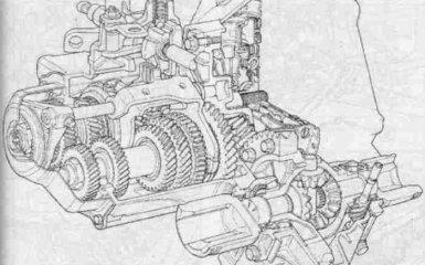 Механическая коробка передач Fiat Albea