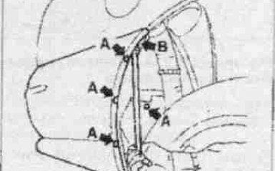 Замена заднего бампера Fiat Albea
