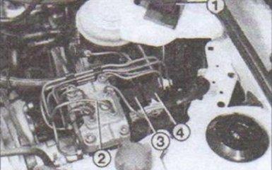Система ABS Audi 80 B4