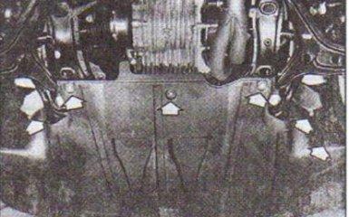 Передний бампер Audi 80 (B4) 1991-1995 г. в. - снятие и установка