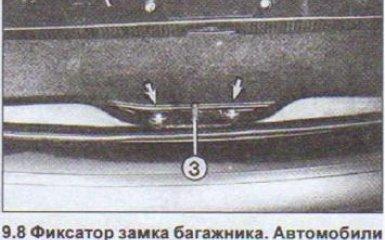 Замена крышки багажника Audi 80 B4