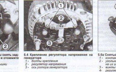 Генератор Audi 80 (B4) 1991-1995 г. в. - проверка, снятие и установка
