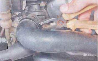 Термостат Chevrolet Lacetti c 2004 гг. - проверка и замена