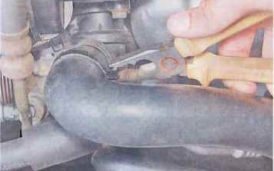 Замена термостата Chevrolet Lacetti