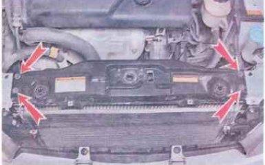 Радиатор охлаждения Chevrolet Lacetti c 2004 гг. - замена