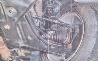 Передняя подвеска Chevrolet Lacetti