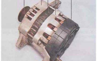 Замена генератора Chevrolet Lacetti