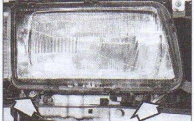 Фары Audi 80 (B4) 1991-1995 г. в. - снятие и установка