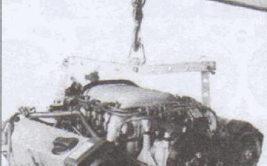 Снятие и установка двигателя Audi 80 B4