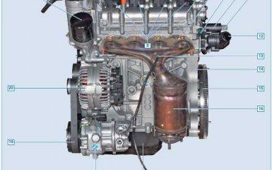 Двигатель Volkswagen Polo Sedan 1.6 с 2010 гг.