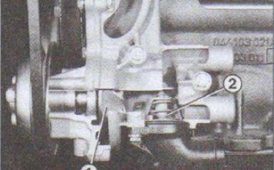 Термостат Audi 80 (B4) 1991-1995 г. в. - установка и снятие, проверка